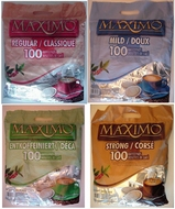 Maximo koffiepads met 100 pads